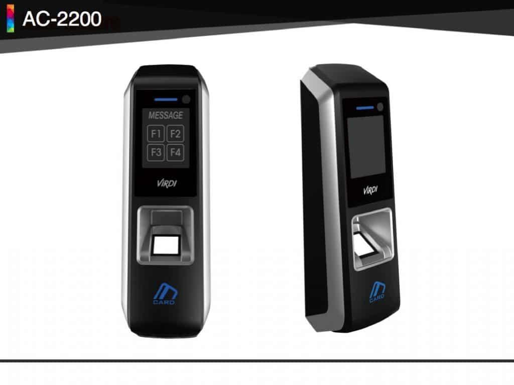 Virdi Ac2200h Finger Print Bio Metric Mobile Control