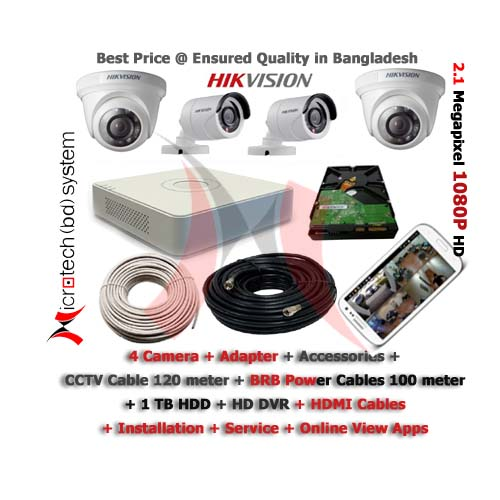 ... HD IR Bullet Camera CCTV Camera Package in Bangladesh 1b07e3db6